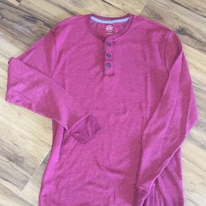 Maroon Soft Washed Thermal ON